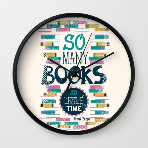 so-many-books-so-little-time-xx9-wall-clocks
